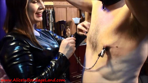 Femdom and Strapon Training My Slave For Gangbangs - Flogging Whipping and Pain