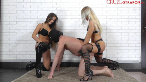 Femdom and Strapon Back and Forth