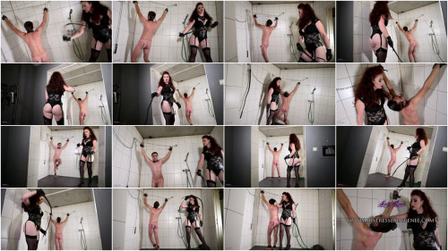 Femdom and Strapon Mistress Lady Renee Slave Punishment