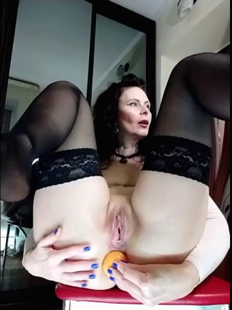 Fisting and Dildo GannaWind Huge Anal Toys