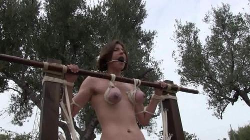 BDSM BreastsinPain - Suspension Orgasm Challenge for Zooey Zara