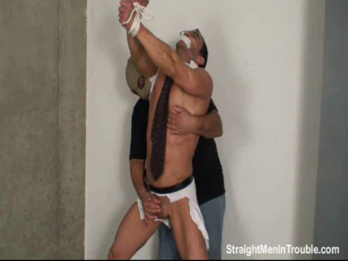 Gay BDSM Young Executive Stripped, Milked and Fucked - Part 3