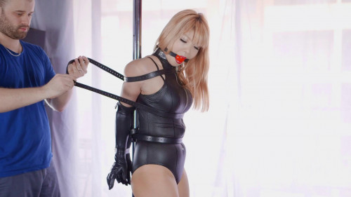 BDSM Pole Dancing Damsel