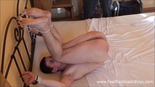 Gay BDSM FeetBastinadoBoys - Lukas Liz. pt 2