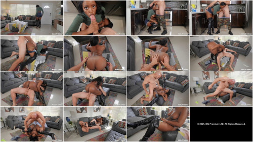 Interracial Nyna Stax - Breaking In Her Stripper Boots
