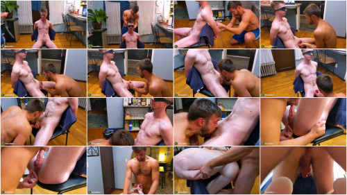 Gay BDSM Red and Adam