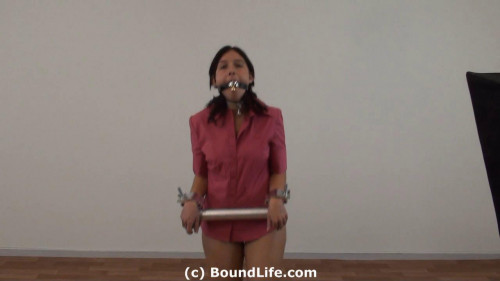 BDSM Heavy pipe and bell gag
