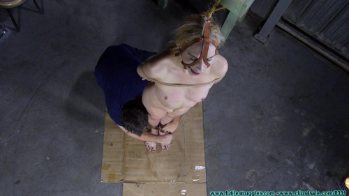 BDSM A Tight Box Hogtie for Ariel Anderssen Part 1