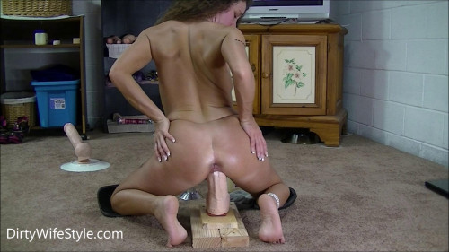 Fisting and Dildo Part 2 of my pussy stretching monster session