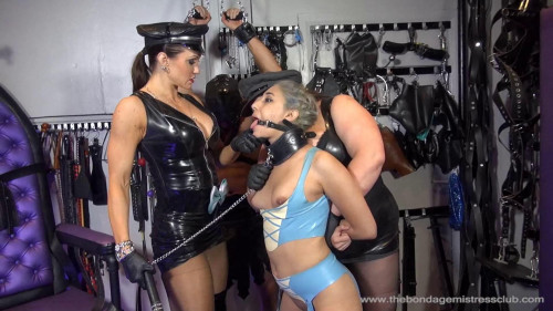 Femdom and Strapon TheBondageMistressClub Latex & Rubber Video Pack Part 1