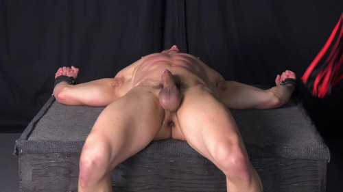 Gay BDSM Jerked, Fucked, Caned - Jeremy Spreadums - Full HD 1080p