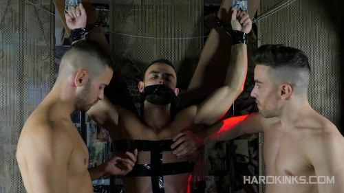 Gay BDSM HK - Under Total Control (Evan Bull, Josh Milk and Robbie Rojo)