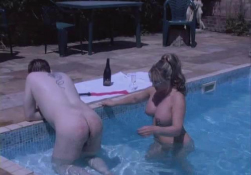 Femdom and Strapon The Pool Boy