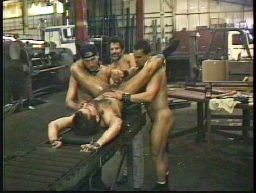 Gay BDSM Steel Dungeon