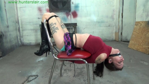 BDSM HunterSlair - Michelle Peters - Leather bound coed