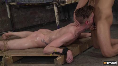 Gay BDSM A Sloppy & Slick Face Fucking