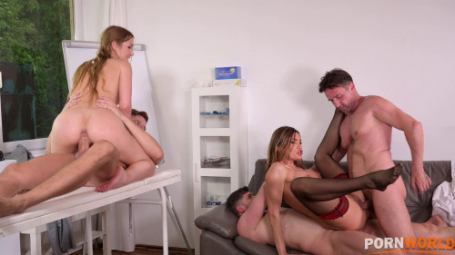 Doctor Kitana Lure & Alexis Cyrstals Inspection Turns to Airtight DP Dick Injections