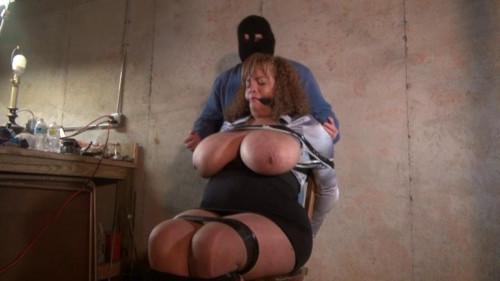 BDSM Busty Slut Tax Detective Captured