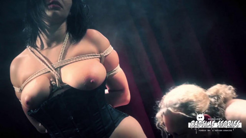 BDSM Wild bondage and torture session with chubby German slave Pina Deluxe Pt 1