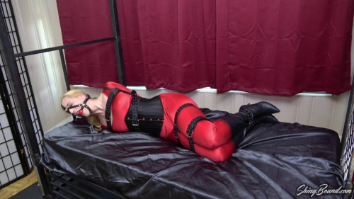 BDSM Ariel Anderssen.. Spandex and Leather