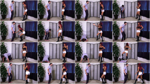 Femdom and Strapon Ballbusting Beauties - Asia Perez - Test of Endurance: Full