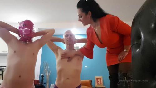 Femdom and Strapon OnlyFans Mistress Ezada Sinn Videos, Part 4