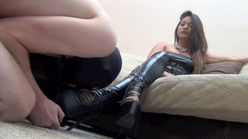 Femdom and Strapon Goddess Lana - Mind, Body And Soles