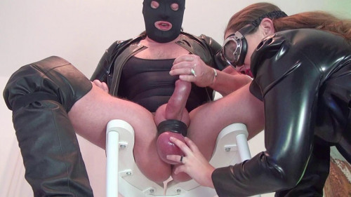 Femdom and Strapon Alex who rules and humiliates