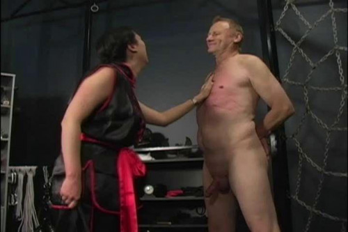 Femdom and Strapon Latex Rubber - Erection Heather - Domination HD