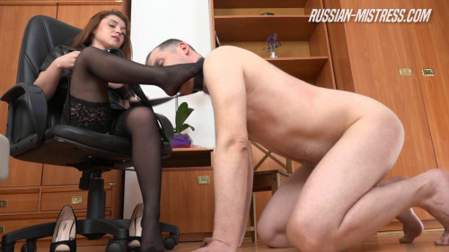 Femdom and Strapon Tiffany Loves Domination