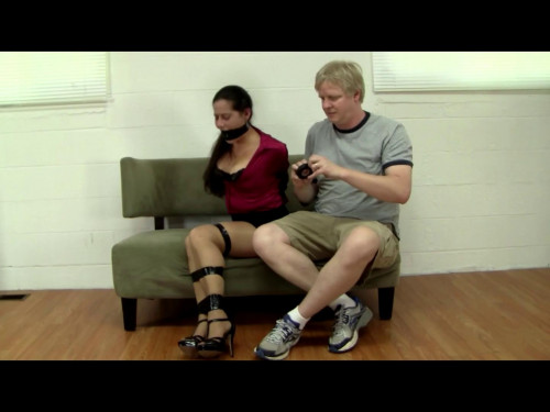 BDSM Summer Peters Over Powered and Electrical Taped