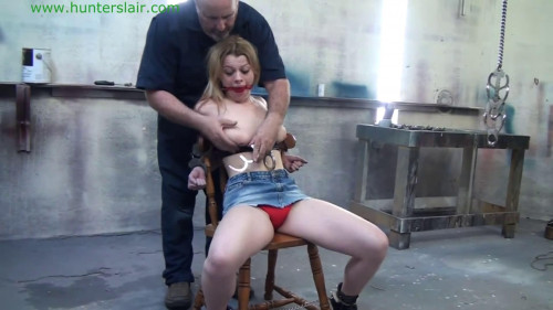 bdsm Super bondage, hanging and torture for beautiful young bitch