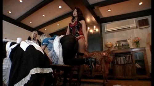 Femdom and Strapon Queen Ryoko Iori