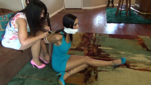 BDSM New Girl Wants Just A Simple Hogtie