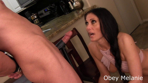 Femdom and Strapon Cum in your Mouth