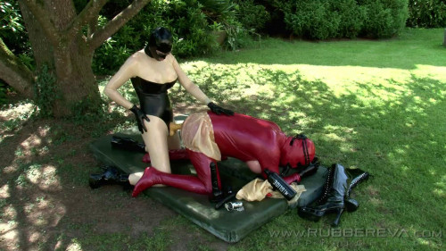 Femdom and Strapon Rubber Sissy Anal Slut - Part 5 - Full HD 1080p