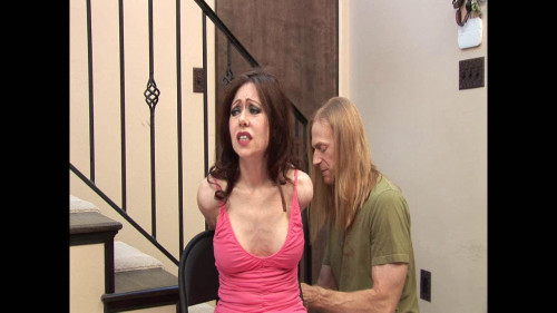 BDSM Entry room bondage and face fuck