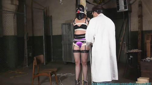 BDSM Polly Post Tied