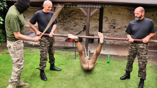Gay BDSM Discipline4Boys - Never Be Late