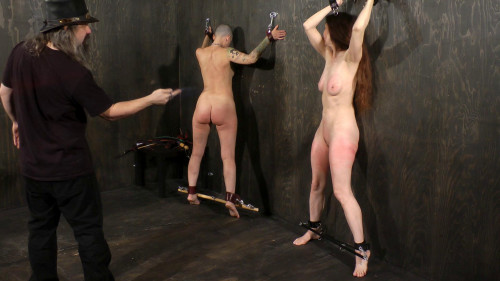 BDSM Emma And Abigail - Extreme Whipping For Extreme Painsluts