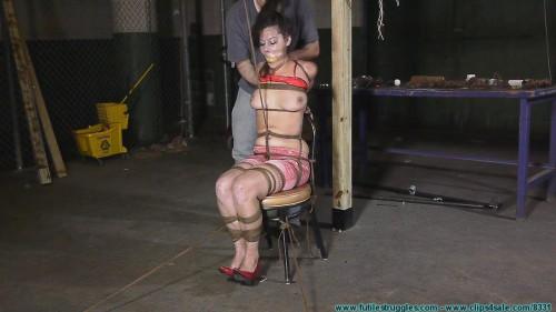 BDSM Summer Hogtied Tight!