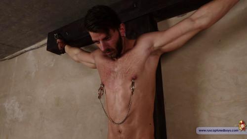 Gay BDSM RusCapturedBoys Slave Alexei Naked. Part II