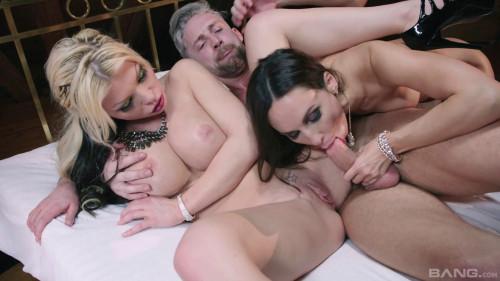 Amazing Threesome With Busty Barbie Sins & Lilu Moon