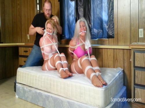 BDSM Sandra and Caroline Pierce