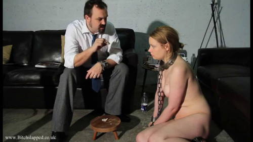 BDSM Tight bondage and domination for sexy naked slavegirl part 2
