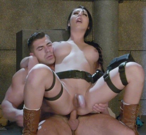 Tomb Rider Fuck Parody With Chanel Santini