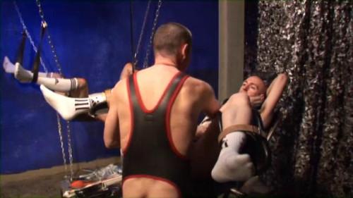 Gay BDSM Clinic Cum Scene 4