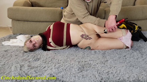 BDSM Cinched And Secured - Rosie vibed