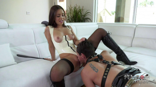 Femdom and Strapon Vicious Cunt