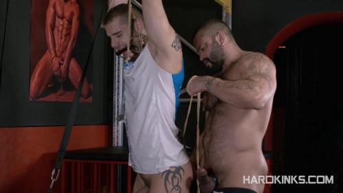 Gay BDSM HardKinks - Bondage Beast - Isaac Eliad and Rogan Richards